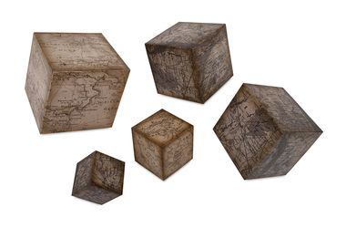 Westlin Map Wall Décor - Set of 5