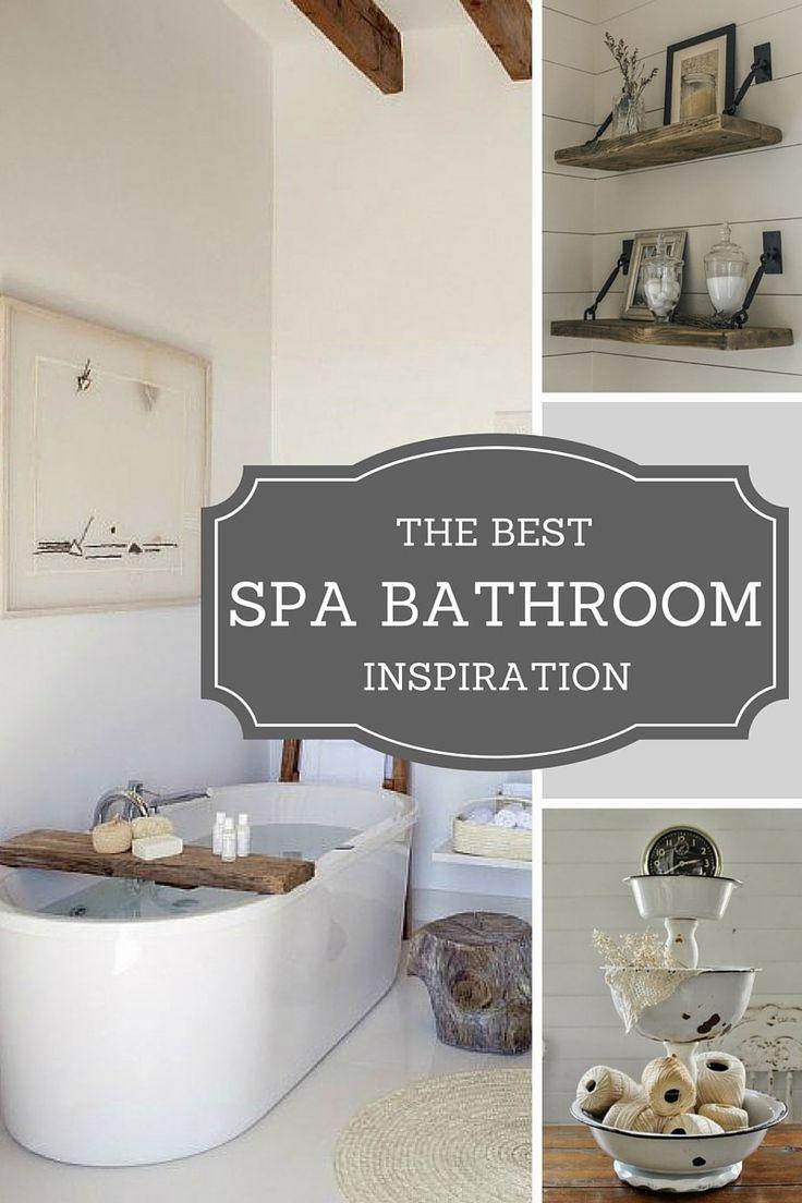 best 25 spa bathrooms ideas on pinterest spa bathroom decor spa master bathroom and spa like. Black Bedroom Furniture Sets. Home Design Ideas