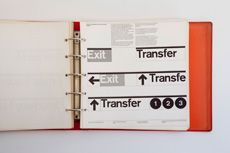 New York City Transit Authority Graphics Standards Manual    Designed by Unimark International  New York 1970