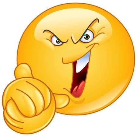 Resultado de imagen de moticon riendo  que se mueva