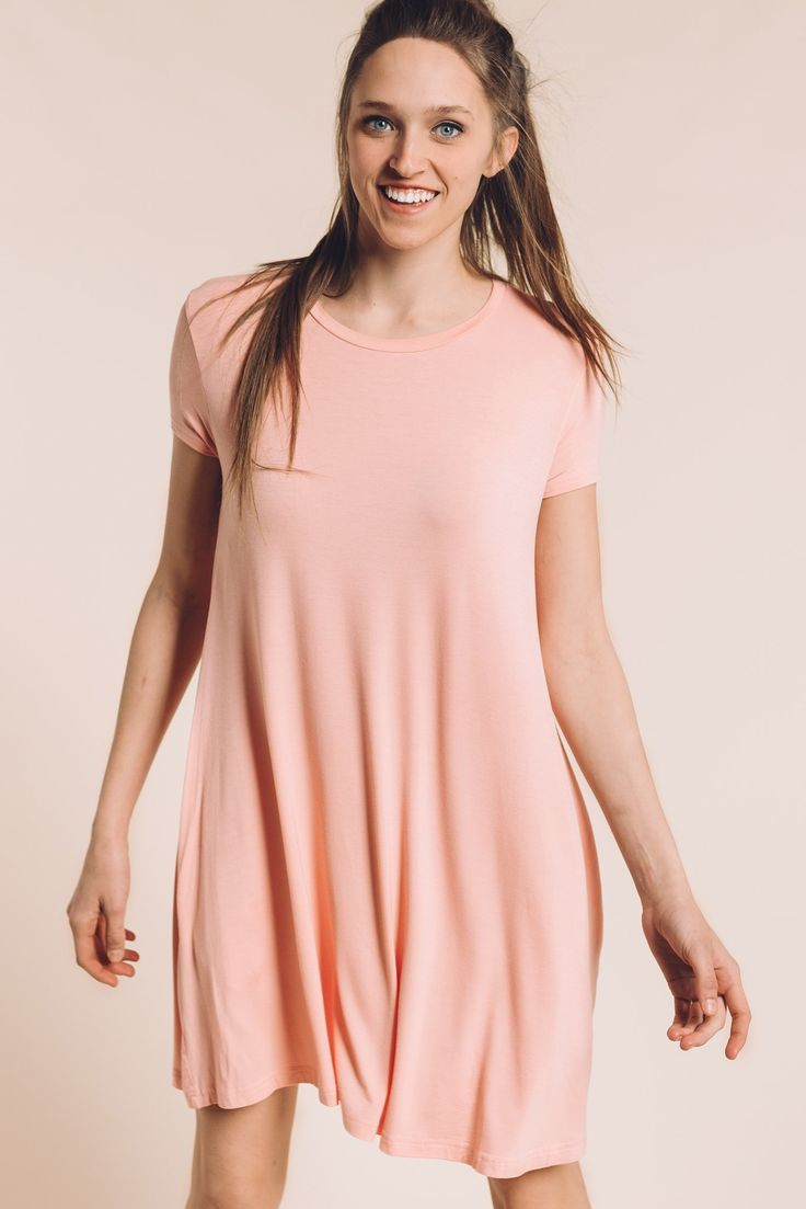 The Alice Piko Dress in Light Pink