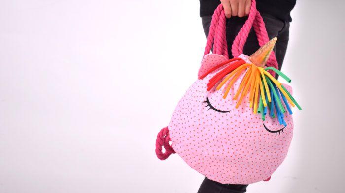 RUCKSACK.unicorn • kostenloser download von Schnittmuster + Nähanleitung eines Rucksacks • Einhorn • free download pattern bag • backpack • leni pepunkt