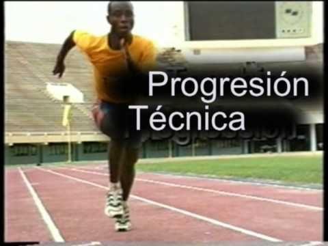 metodologia atletismo velocidad - YouTube