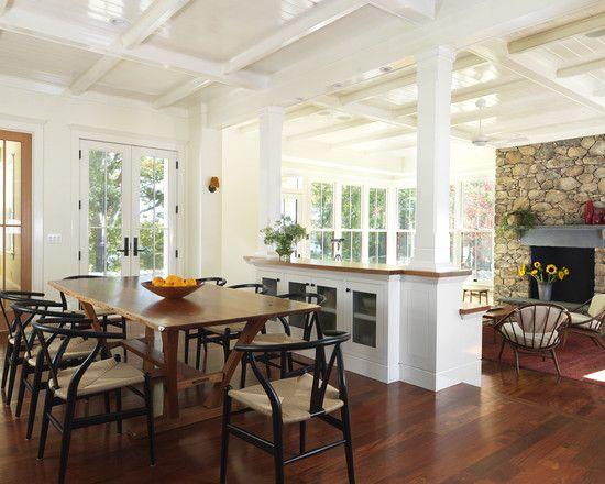 Kitchen Family Room Separation Home Pinterest
