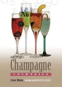 Another bookcover for Lisa Shea, this time for her Champagne Cocktails recipes. Again, sytling and photography were also done by Gardiner Design.    This book will soon be available as both an eBook and as a spiral bound softcover at: www.wineintro.com.