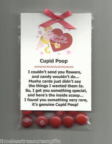New Homemade Cupid Poop... Hahaha too funny!