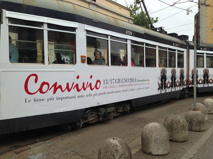 #iLoveConvivio #tram #Milano