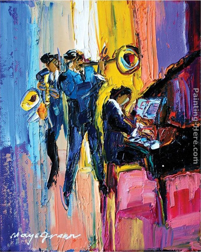 Jazz Band with trumpet
