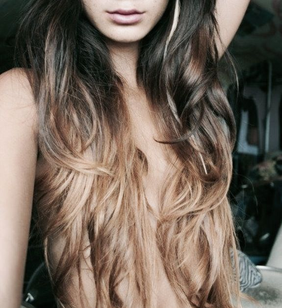 Dark Brown Hair With Light Blonde Ombre Ombr 233 S