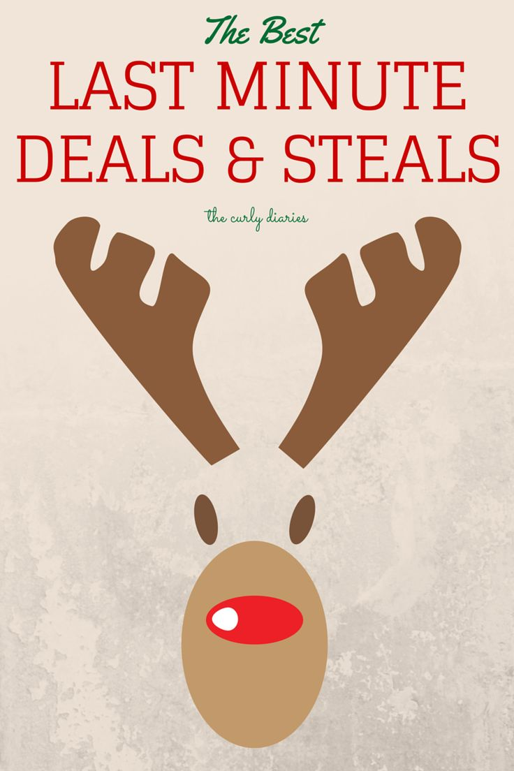 The best holiday deals for those last minute shoppers! #holidayshopping