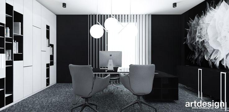 ERMAX   Wnętrza biurowe   aranżacja gabinetu