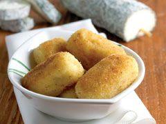 Croquettes de pommes de terre au Sainte-Maure de Touraine
