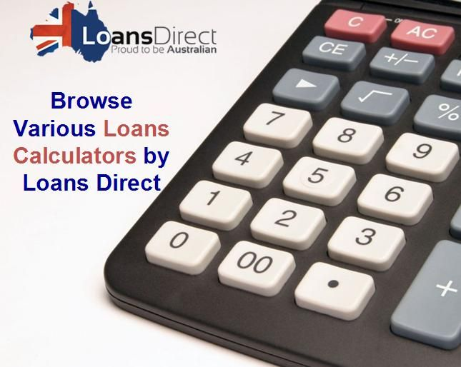 When it comes to borrowing a #Loan for certain purpose, there comes a lot of options in mind regarding the borrowing limit, interest rates, repayments options and many others. #LoansDirect has variety of calculators that will do the math for you. Have a look at all these by visiting website.