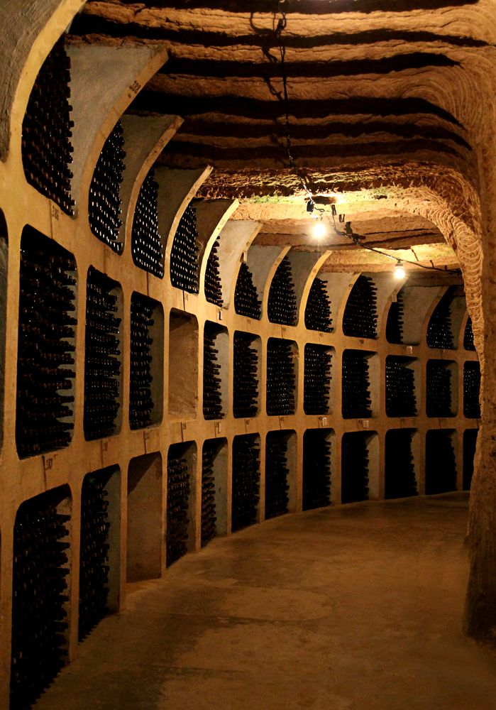 34 Mile long wine cellar, Milestii Mici, in Moldova