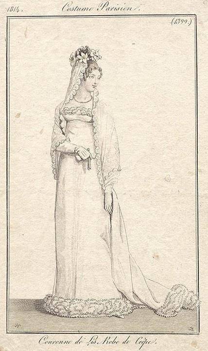 1814 wedding dress