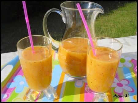 jus de fruits exotique