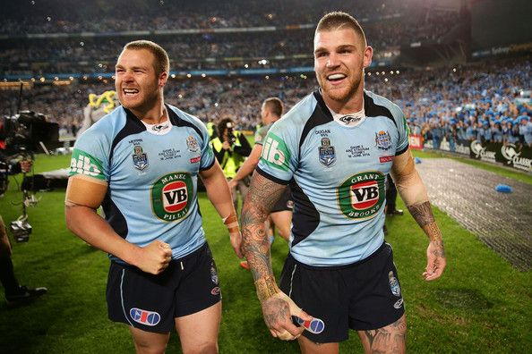 Trent Merrin and Josh Dugan