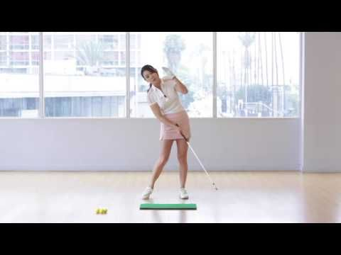 [Golf with Aimee] Aimee's Golf Lesson 027: POWER IMPACT - YouTube