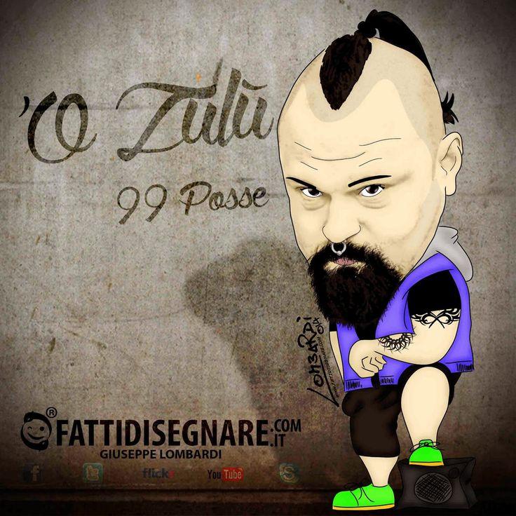 FattiDisegnare.com: 'O Zulù     99 POSSE