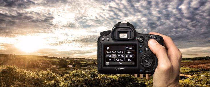 As câmeras Canon têm a tecnologia mais recente para fazer a melhor exposição da sua foto automaticamente, mas é no modo manual que você pode sair do óbvio e impressionar com uma foto realmente criativa.
