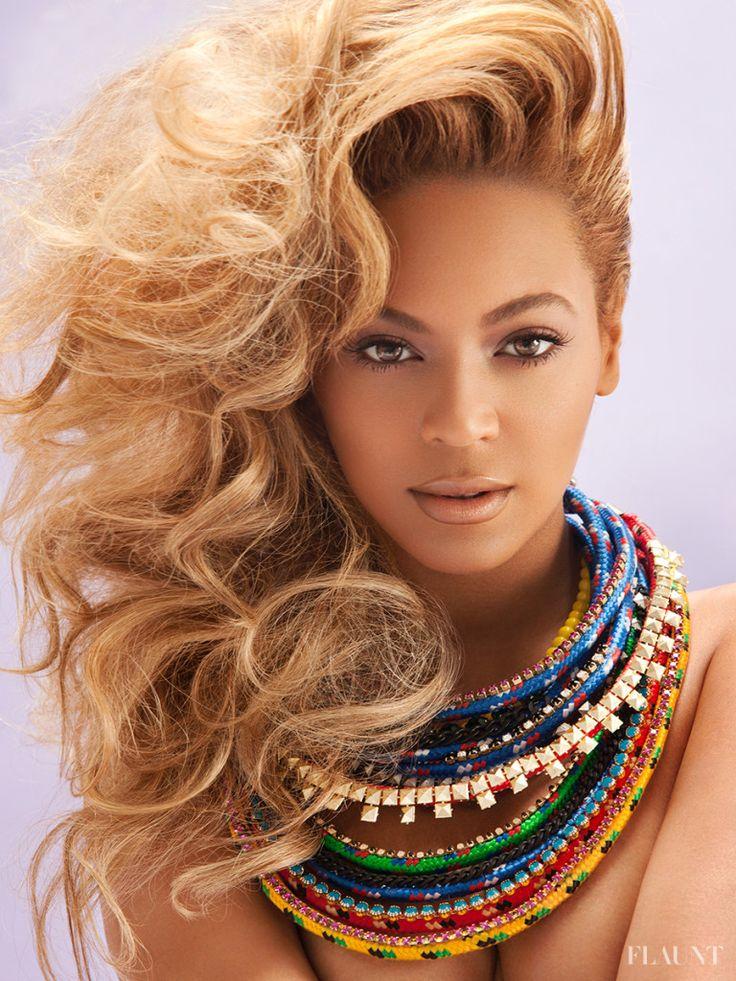 Flaunt Magazine Beyonce, 2013. Francesca Tolot. Makeup Artist.