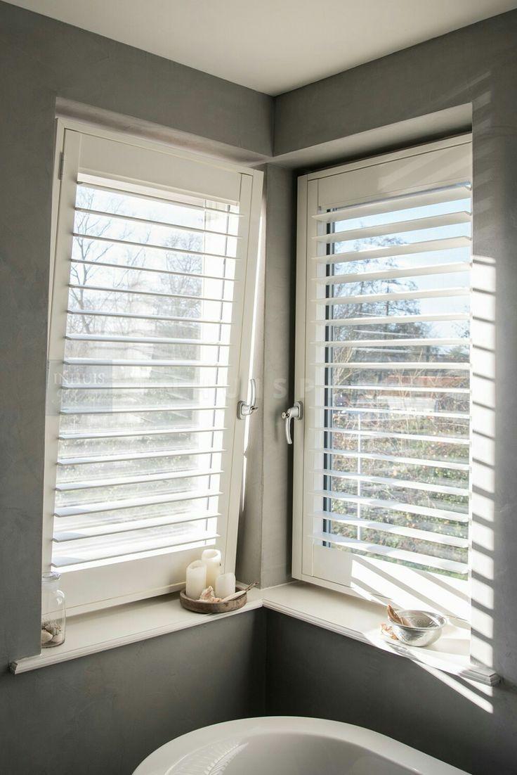 Shutters draai kiep raam