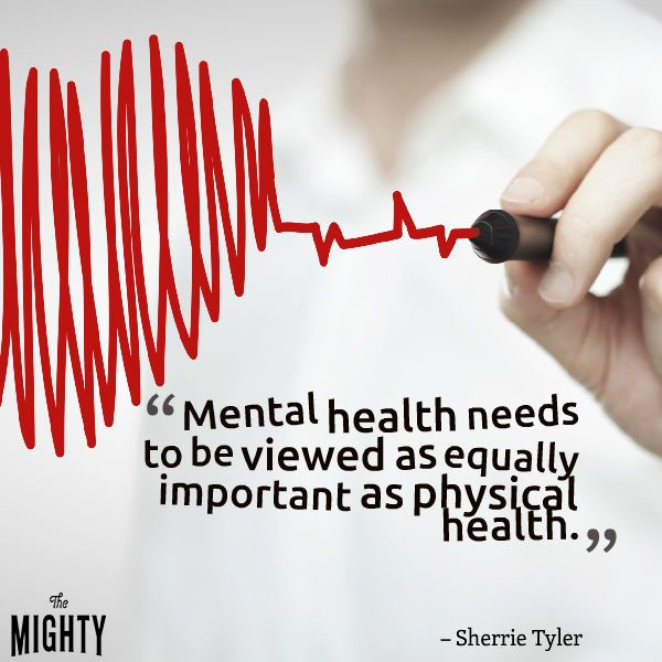 Mental health is equally important as physical health