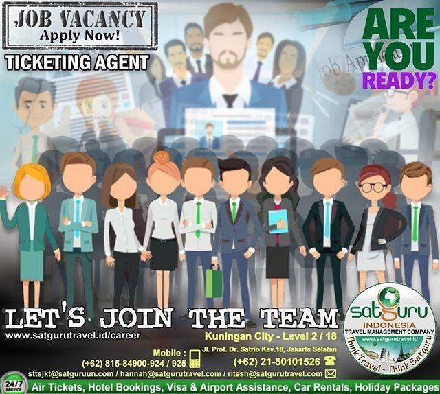 Satguru Indonesia Travel Management Company 30 Job Vacancy