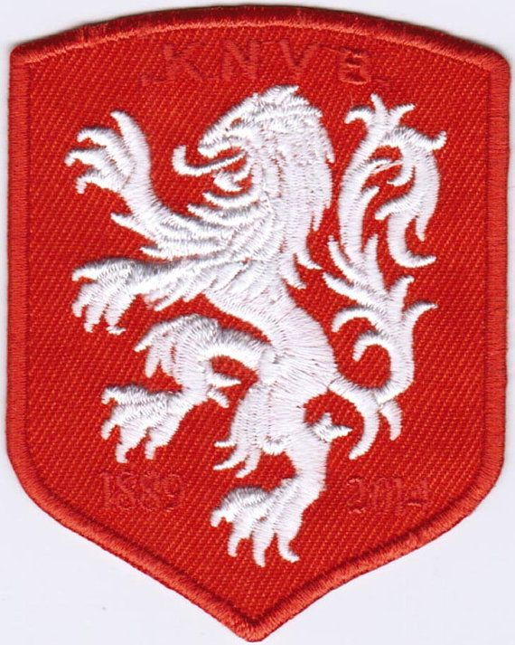 Netherlands National Football Team KNVB FIFA Soccer Badge Embroidered Patch