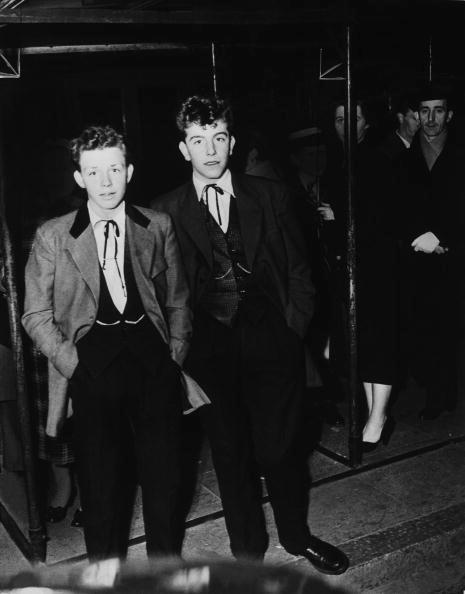 Teddy Boys 1954.