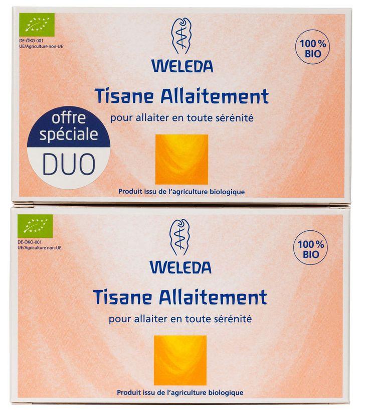 Weleda tisane allaitement 100% bio - Weleda offre duo 2 x 20 Sachets in Bébé, puériculture, Allaitement | eBay