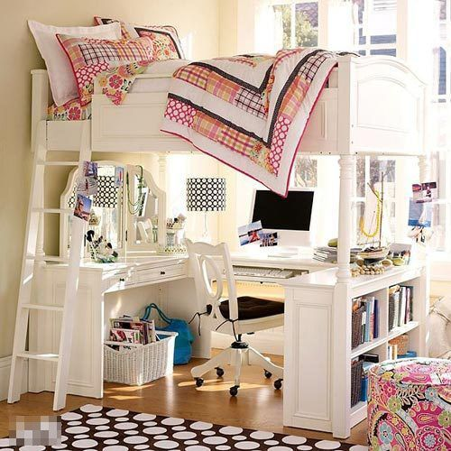 Ikea Bedroom Furniture For Teenagers - Loft Bed With Desk Plans
