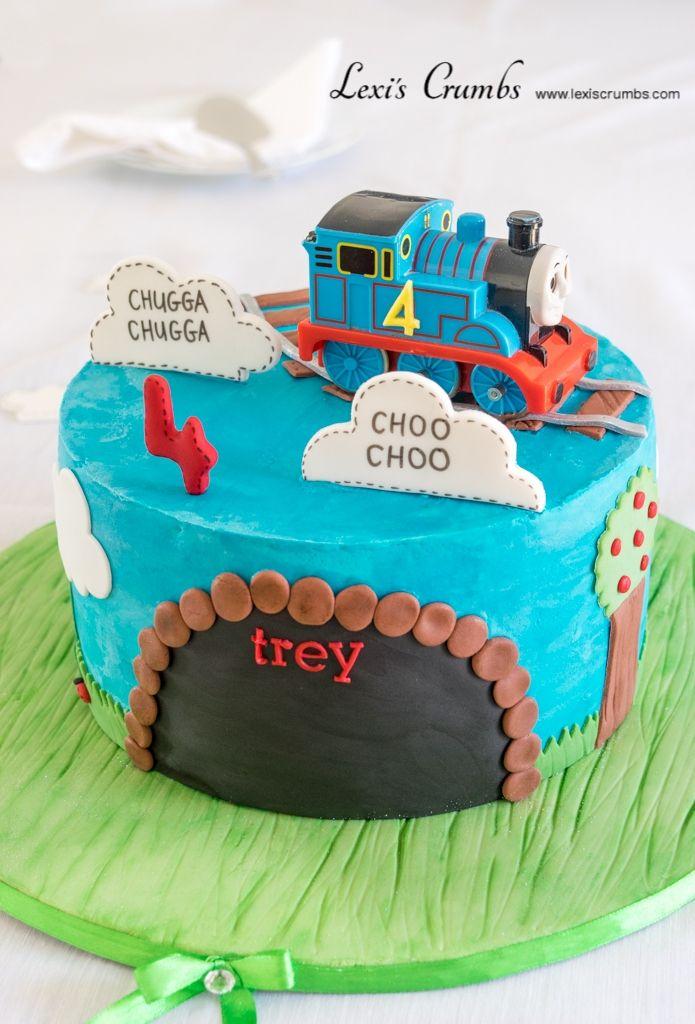 Train cake www.lexiscrumbs.com