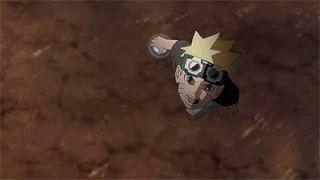 anime, naruto shippuden, naruto vs sasuke, the final battle, gif