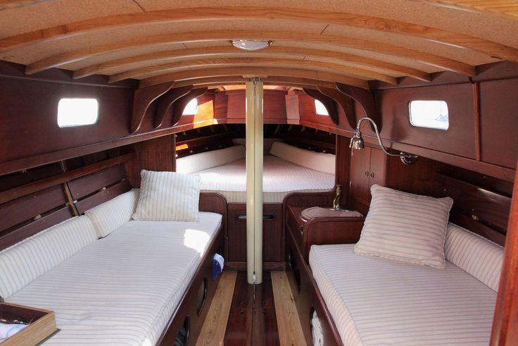 17 best images about folkboat on pinterest for How to restore a boat interior