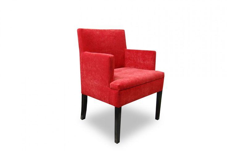 Fotel Eduardo prosty - Sklep meblowy Onemarket - Meble do sypialni, pokojowe, młodzieżowe