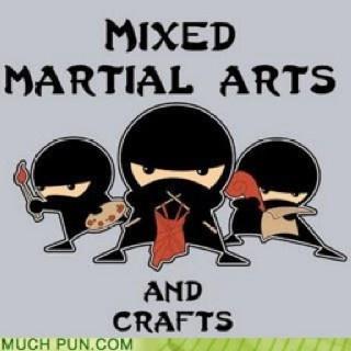 Mixed Martial Arts & Crafts