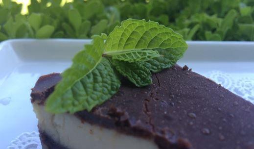 Vous devez absolument essayer cette tarte de menthe poivrée au chocolat