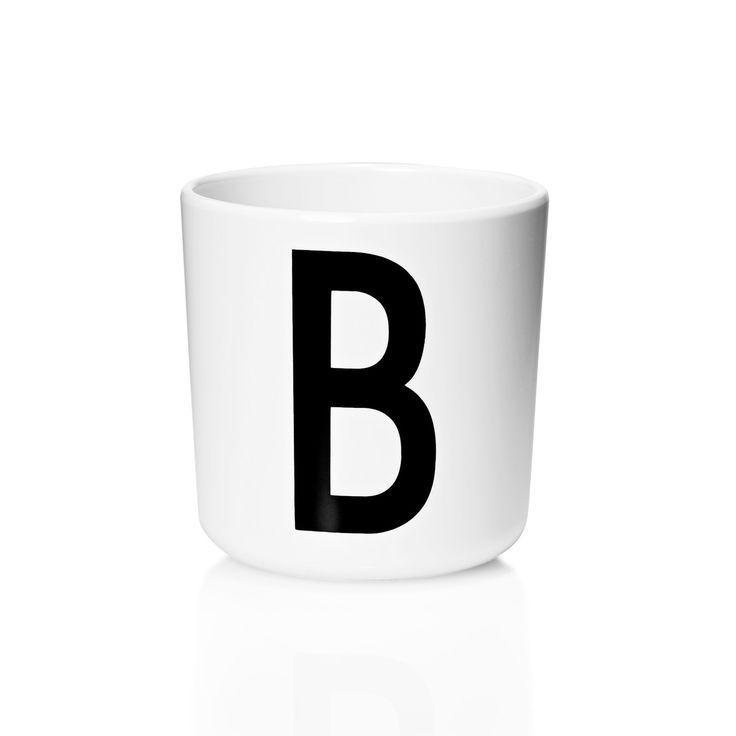 Design Letters - AJ Melamin Becher B