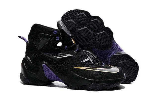 c21a6d87d14 2018 Shop Lebron 13 XIII Boy Black History Month BHM Club Purple Gold Brand  sneaker