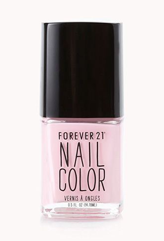 Dreamy Pink Nail Polish | FOREVER21 - 1000063717 #Forever Holiday