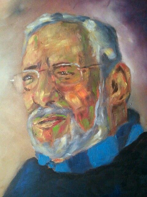 Self portrait by Jesús Ojeda.
