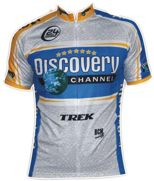 Discovery koszulka kolarska - Sklep.Centrumkolarskie.p - stroje kolarskie, koszulki kolarskie, ubiory rowerowe