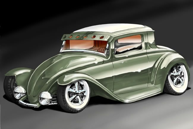 nice concept... volksrods rule.