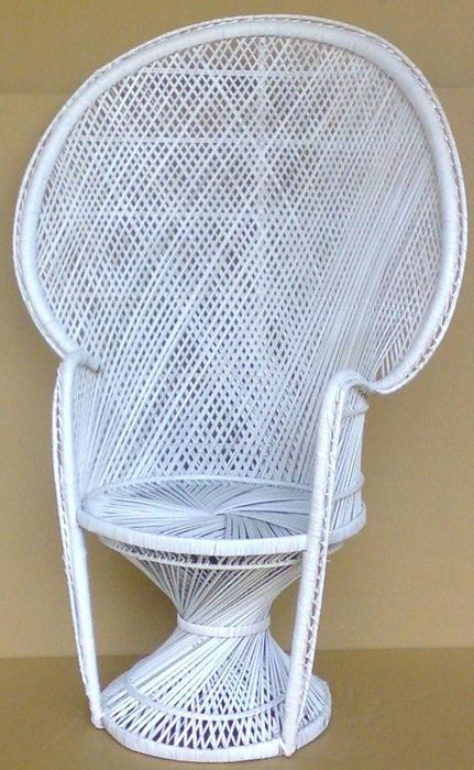 Cane Queen Fan Back Chair Buri By Hospitality Rattan Americanrattan