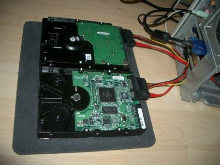 how to save software if hard drive is corrupted
