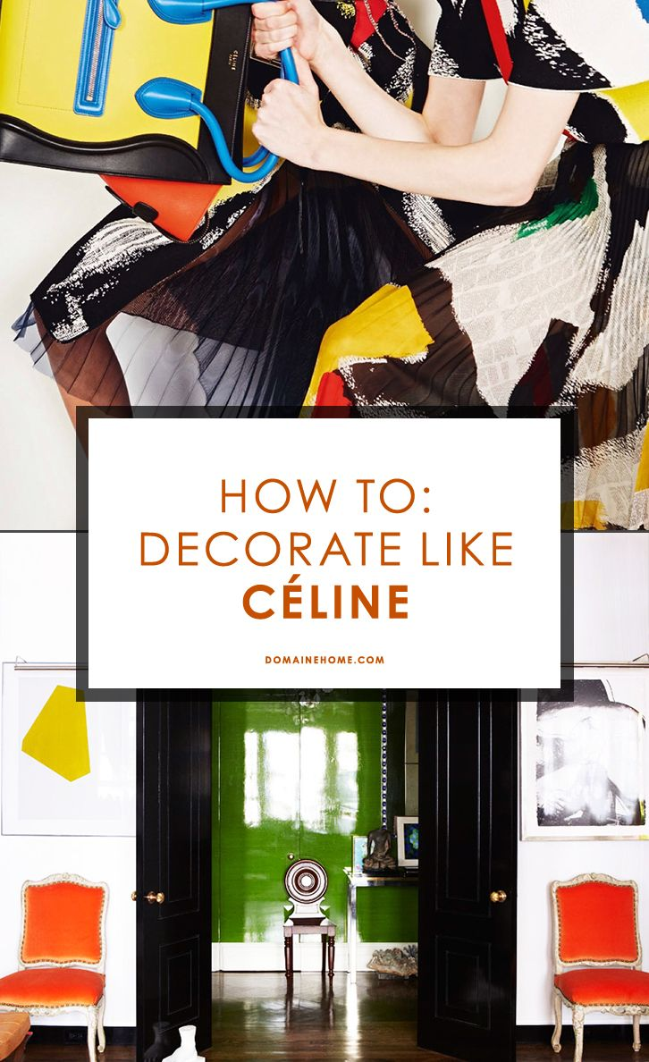 How to Get the Céline Look at Home