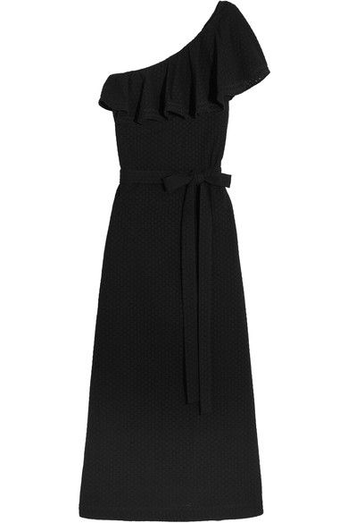 LISA MARIE FERNANDEZ Arden one-shoulder broderie anglaise cotton maxi dress. #lisamariefernandez #cloth #beachwear