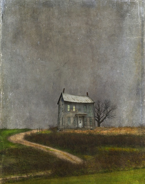 """Mozart and Cherry Pie"" by Jamie Heiden  - The light on upstairs, always:"