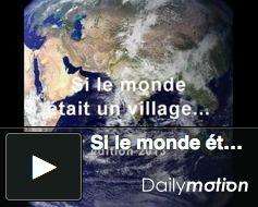 PopulationData.net : Si le monde était un village ... Great for teaching…